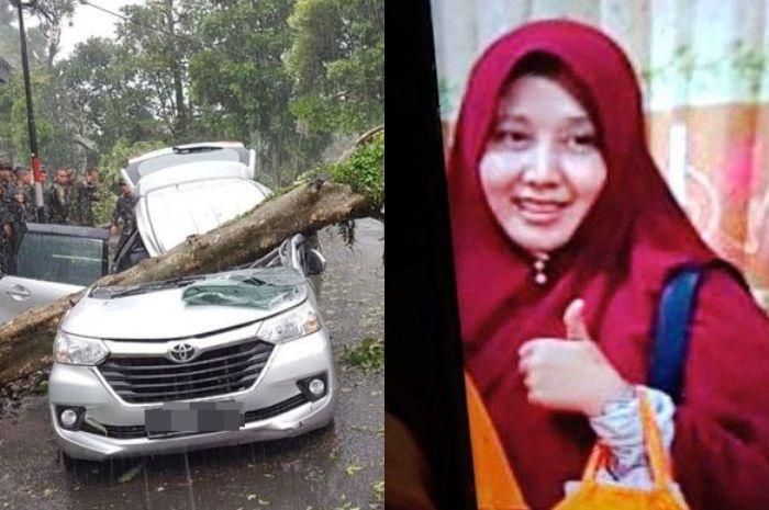 Pesan Terakhir Seorang Ibu yang Tewas Tertimpa Pohon di Bogor Pada Anak Sulungnya: Mamah Kalau Meninggal Minta Dishalatkan Dipimpin Sama Anaknya