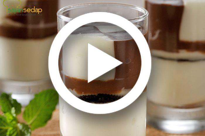 (Video) Resep Membuat Puding Cokelat Biskuit yang Enak dan Sederhana, Dessert Manis Untuk Kamu yang Dinamis