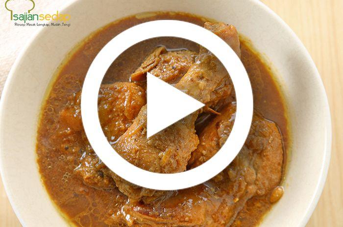 (Video) Resep Masak Semur Ayam Paling Enak Sejagat Raya, Bikin Keluarga Maunya Tambah Makan Terus