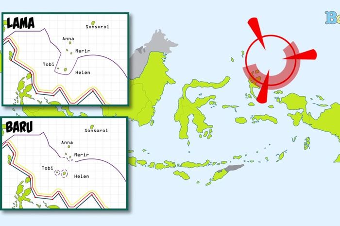 Perubahan Peta Indonesia