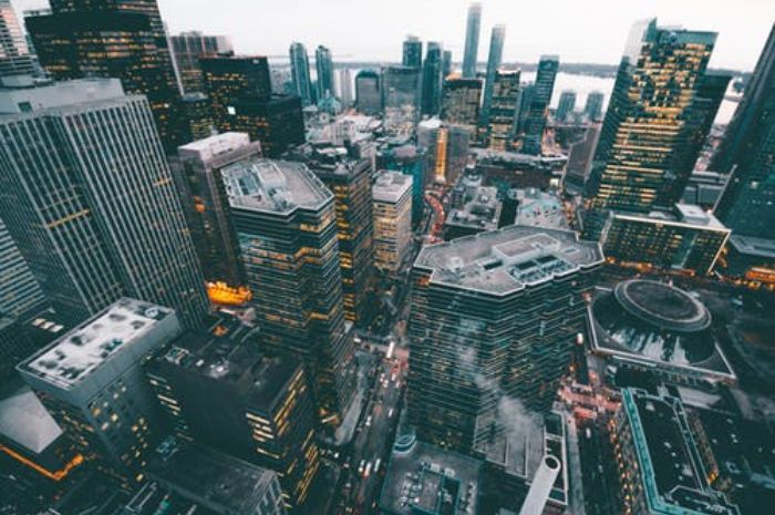 Ilustrasi kota