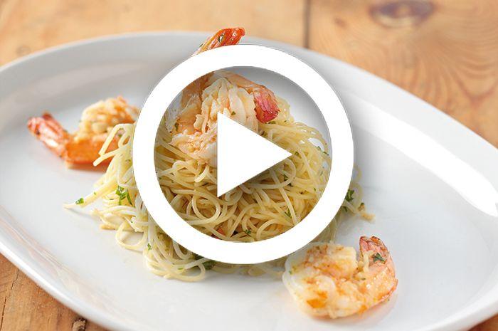 (Video) Resep Masak Shrimp Aglio E Olio, Pasta Fancy yang Bisa Kilat Dibuat