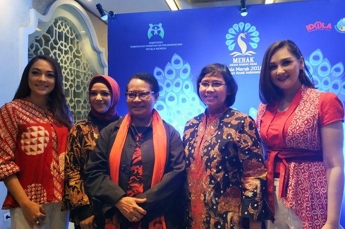 Malam Penganugerahan Piala Merak 2018 pada Jumat (7/12/2018) di Jakarta.