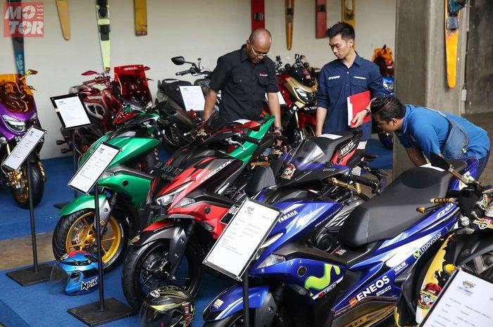 Sesi Penjurian Customaxi Yamaha 2018 Kota Makassar.