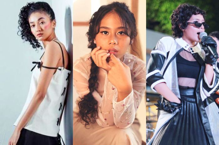 Ide gaya styling rambut keriting dari deretan Selebritis Indonesia