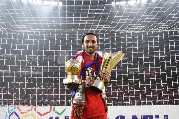 Rohit Chand jadi pemain terbaik Liga 1.
