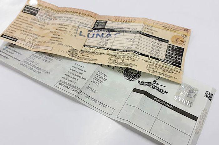 STNK mati plus 2 tahun pajak nggak dibayar, siap-siap blokir