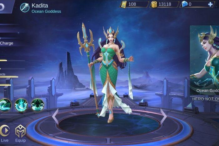 Mobile Legends Punya Karakter Baru Legenda Indonesia, Nyi Roro Kidul