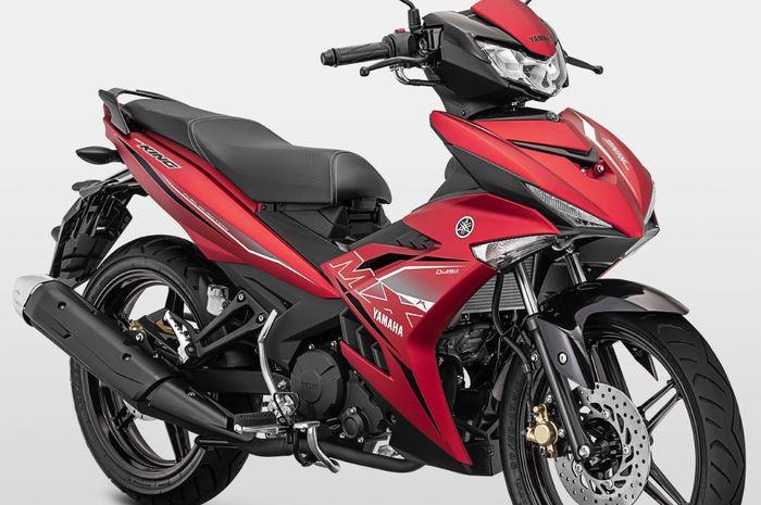 Yamaha MX King 2019 warna merah