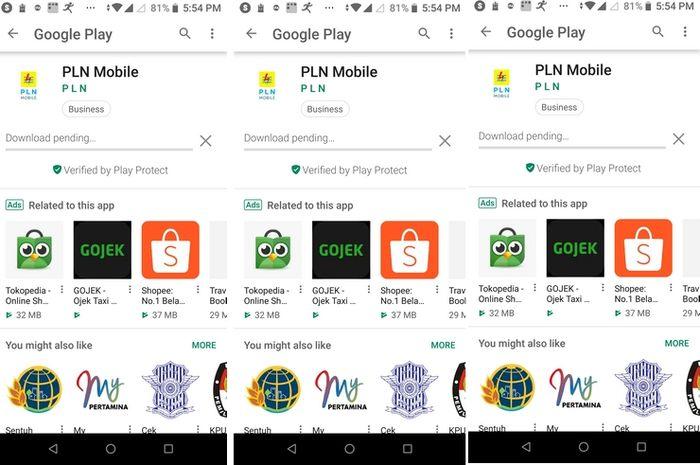 play store app download pending