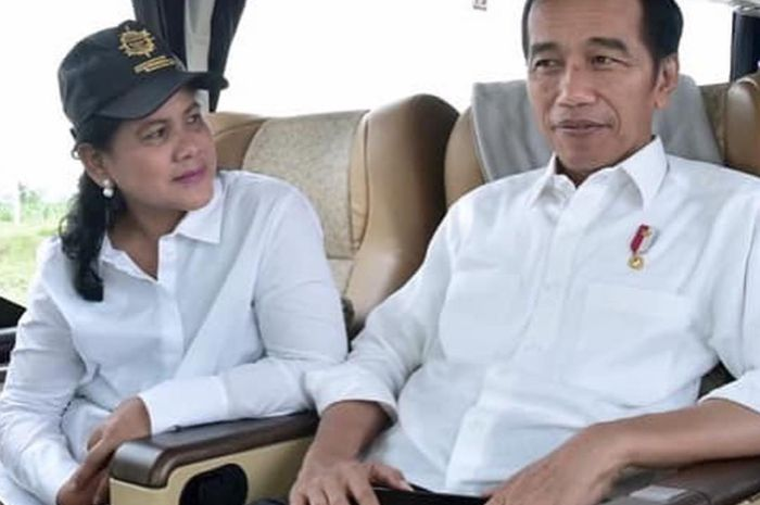3 Potret Romantis Layaknya Remaja Presiden Jokowi dan Iriana saat Remikan  Tol Trans Jawa 87e7c7b5a4