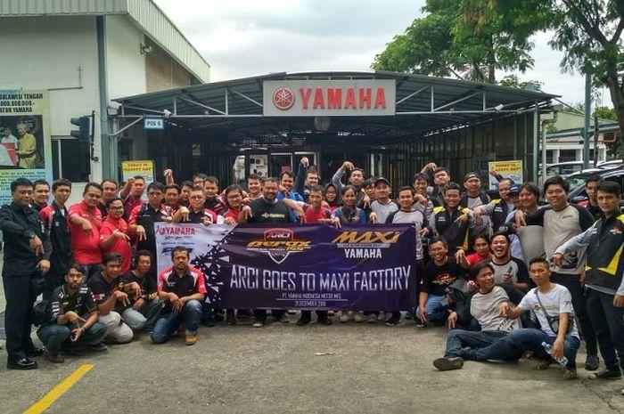 ARCI kunjungi pabrik Yamaha Pulogadung, Jaktim.