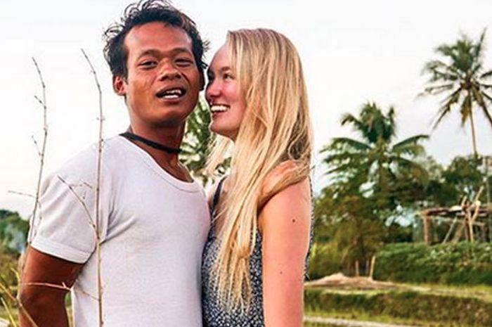 Nur Khamid nikahi bule cantik Polly Alexandrea robinson