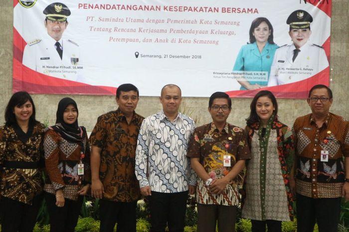 Kerja Sama NOVA dan Pemerintah Kota Semarang dalam Pemberdayaan Keluarga, Perempuan dan Anak di Kota Semarang