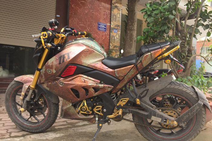 Yamaha Xabre makin sangar pakai tema karatan