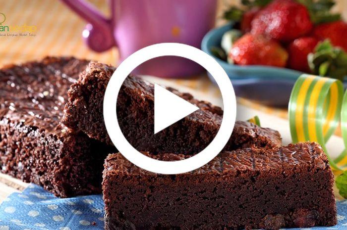 Resep membuat Brownies Fruit Mix