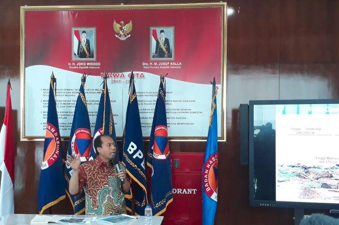Kepala Pusat Data dan Humas BNPB, Sutopo Purwo Nugroho.