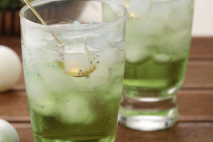 Resep Membuat Apple Mint Drinks