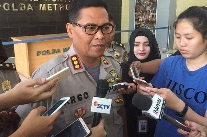 Kombes Pol Argo Yuwono, Kabid Humas Polda Metro Jaya di Mapolda Metro Jaya, Kebayoran Baru, Jakarta