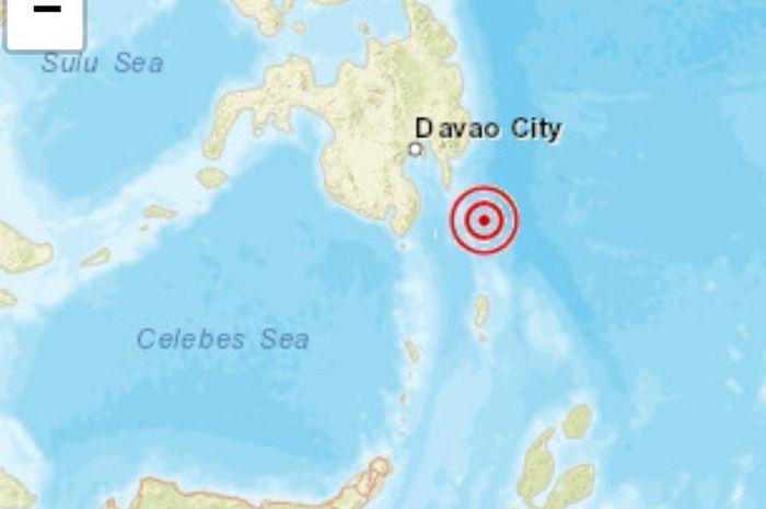 Gempa di Kepulauan Talaud.