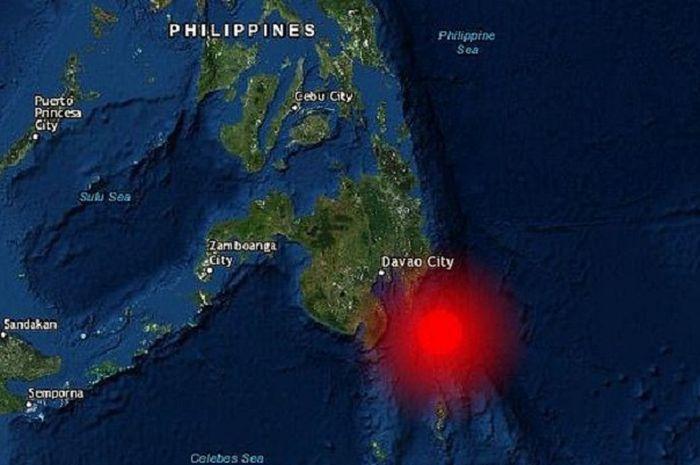 Peringatan gempa.