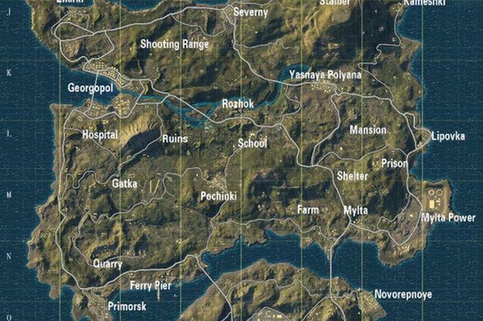 7 Kota Di Map Erangel Pubg Mobile Yang Terinspirasi Dari Dunia Nyata