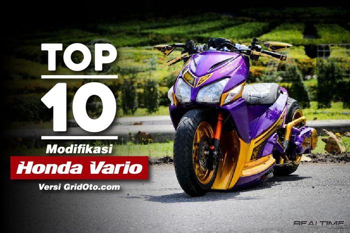 Top 10 Modifikasi Honda Vario sepangjang 2018