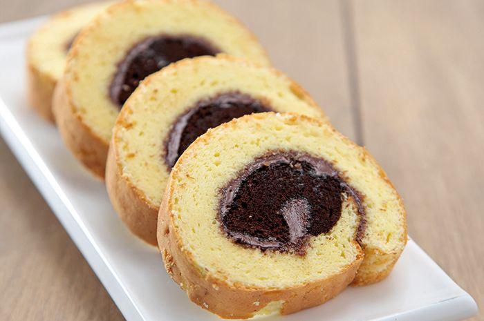 Resep Membuat Roll Cake Vanila Cokelat