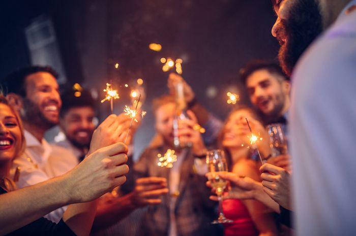 Perayaan tahun baru.