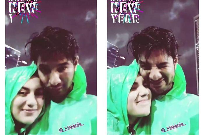 Ammar Zoni dan Irish Bella Rayakan Tahun Baru Berdua