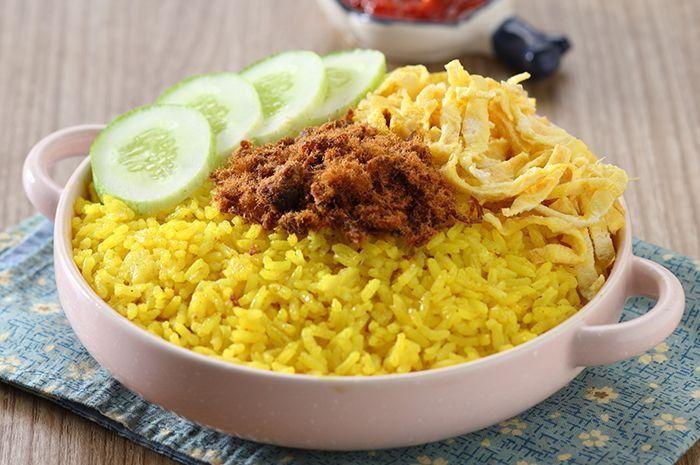 Resep Membuat Nasi Kuning Enak