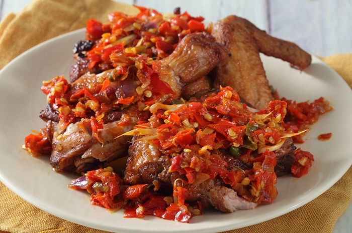Resep Masak Ayam Penyet Sambal Serai