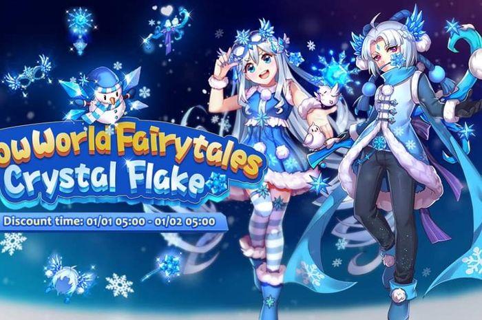 Evento Snow World Fairytales Crystal Flake en Ragnarok M Eternal Love
