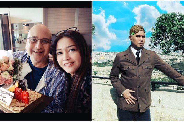 Maia Estianty bantah di comblangkan Ahmad Dhani dengan Irwan Mussry
