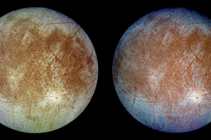 Bulan Jupiter, Europa.