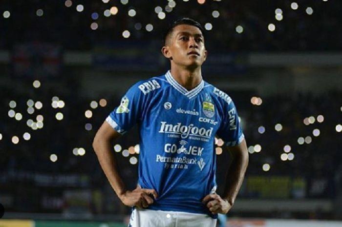 Pemain sayap Persib Bandung dan Timnas Indonesia, Febri Hariyadi