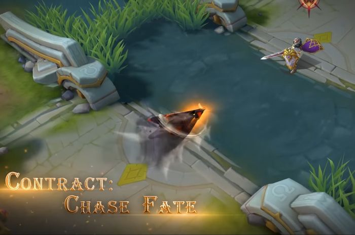 Skill Aldous, Contract: Chase Fate, dalam skin Death