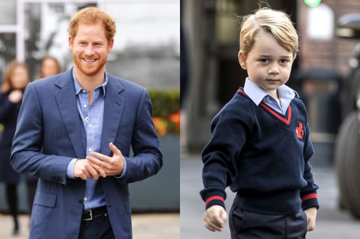Prince Harry dan Prince George