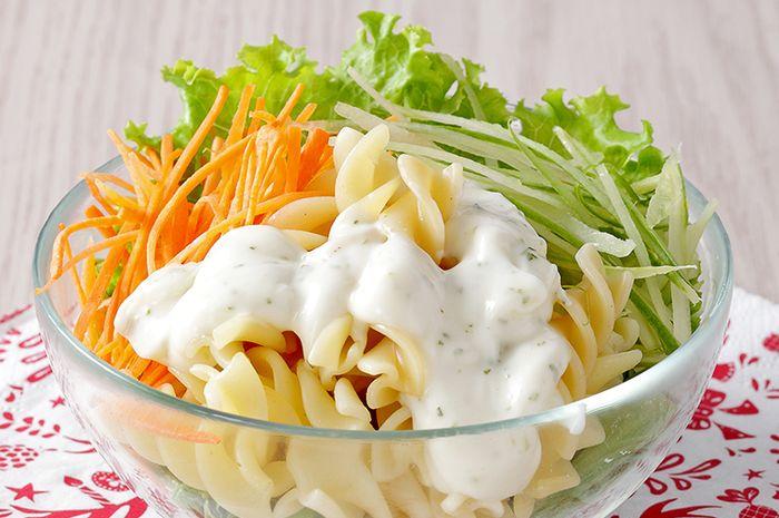Resep Membuat Salad Pasta