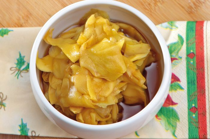 Resep Membuat Manisan Mangga Gula Palem