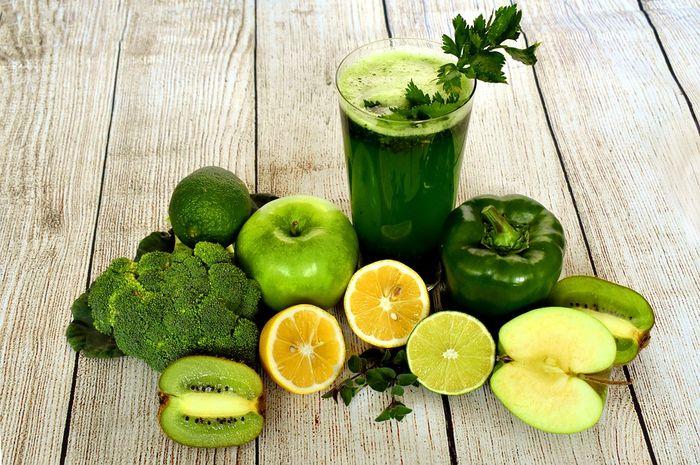 campuran jus dan sayur bagus untuk kita yang sedang sakit