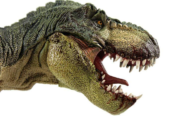 T-rex berburu hanya dengan kepalanya.