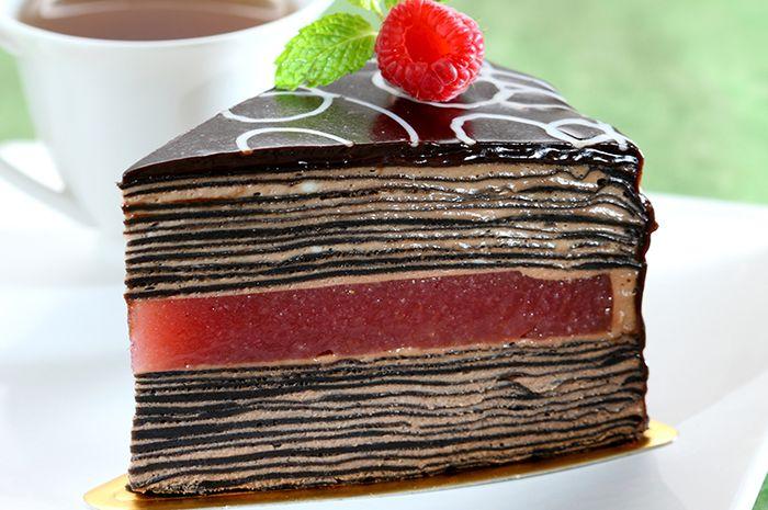 Resep Membuat Thousand Layer Chocolate Cake