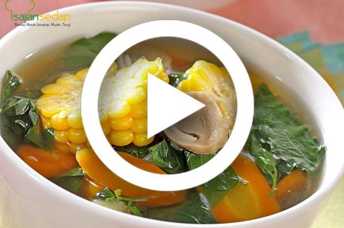 (Video) Resep Membuat Sayur Bening Katuk yang Mudah dan Enak, Cocok Dikonsumsi Oleh Ibu Menyusui
