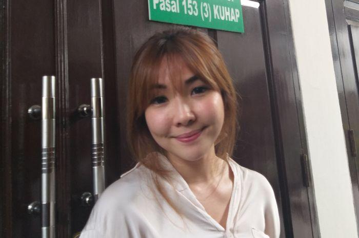 Gisella Anastasia saat ditemui Grid.ID di kawasan Pengadilan Negeri Jakarta Selatan, Rabu (9/1/2019).