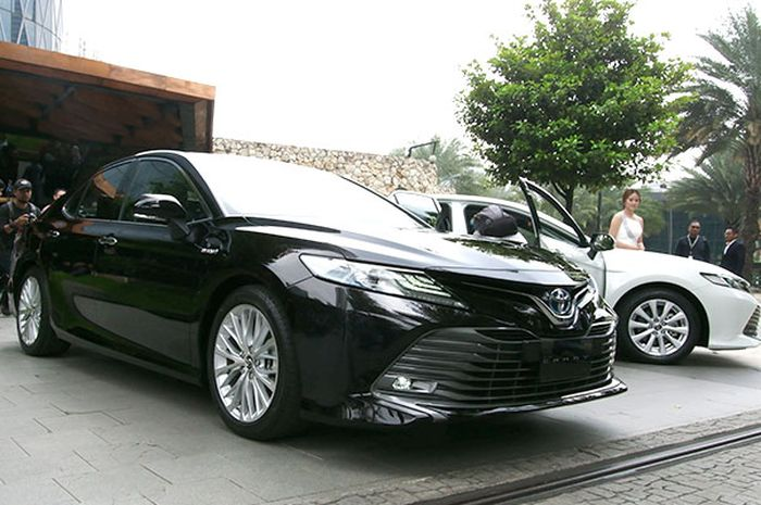 All New Toyota Camry tampil lebih agresif