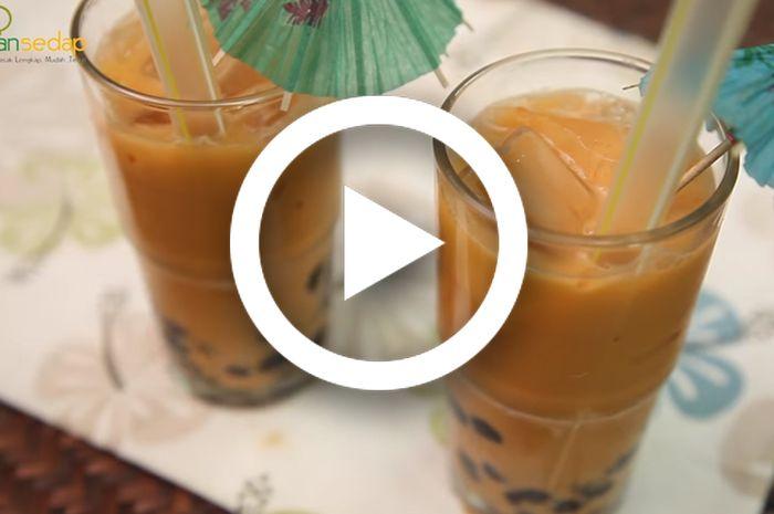 Resep Thai Tea Tarik Mudah Dibuat, Yakin Enggak Mau Coba Kesegarannya?