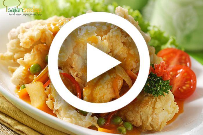 (Video) Resep Masak Kakap Kuluyuk Super Lezat, Bawaannya Mau Tambah Nasi Terus!