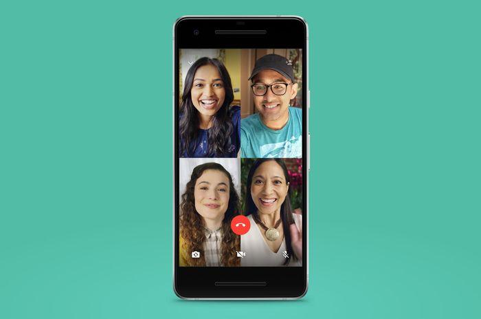 WhatsApp Bisa Tampung Lebih Dari 4 Orang Dalam Grup Video Call ...