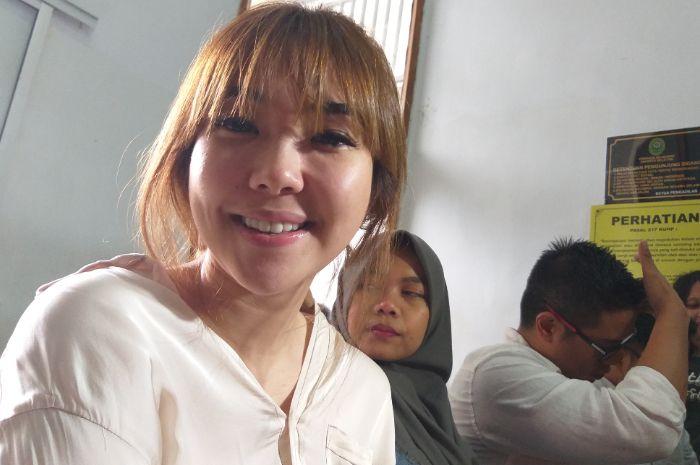 Gisella Anastasia saat ditemui Grid.ID di Pengadilan Negeri Jakarta Selatan, Rabu (9/1/2019).